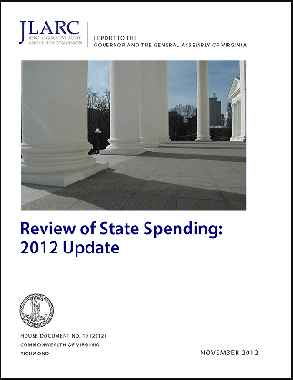 State Spending 2012